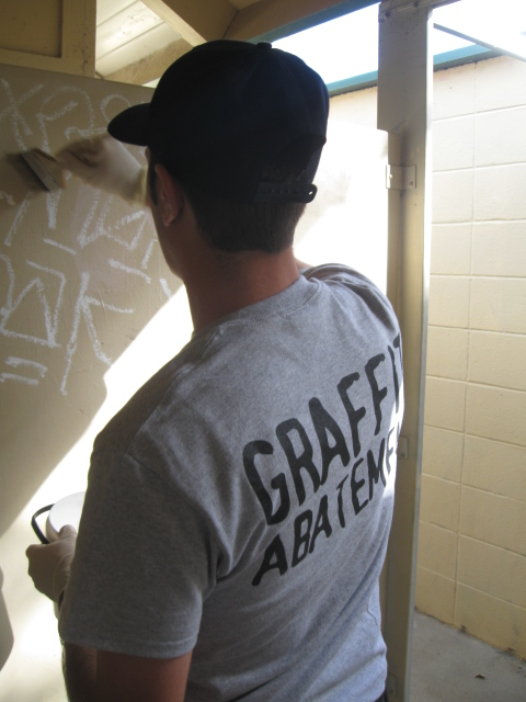 Graffiti Abatement Volunteer 2