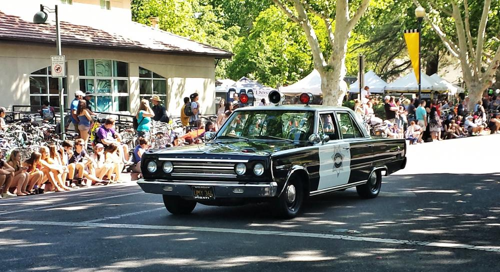 DPOA Car leading Picnic Day Parade