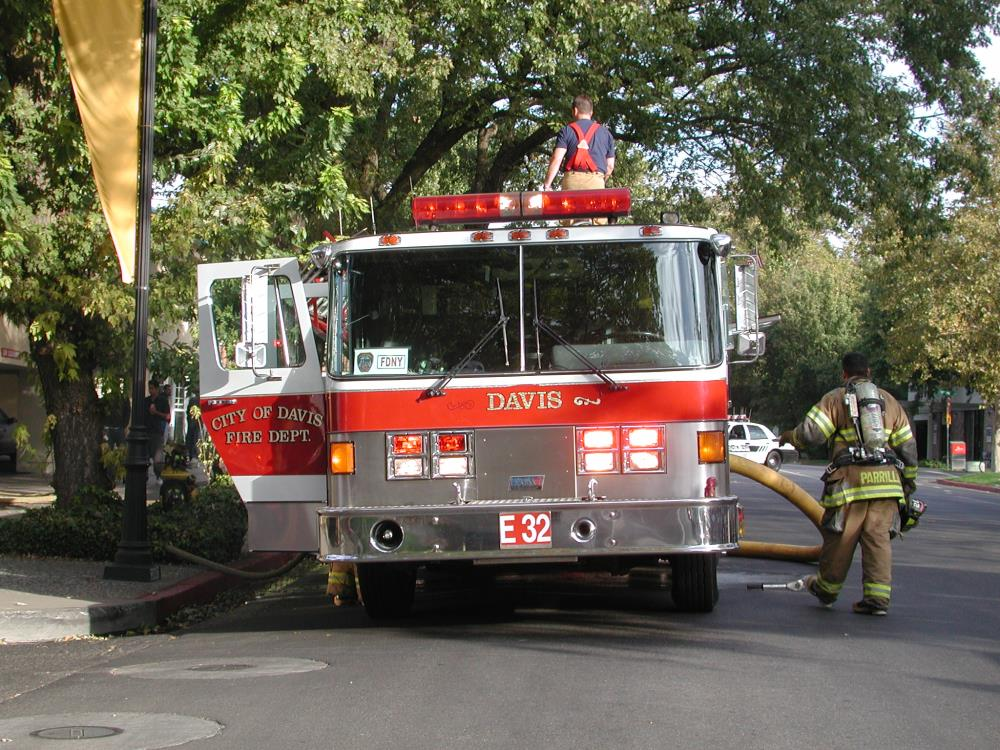 Welcome To The Fire Department City Of Davis Ca