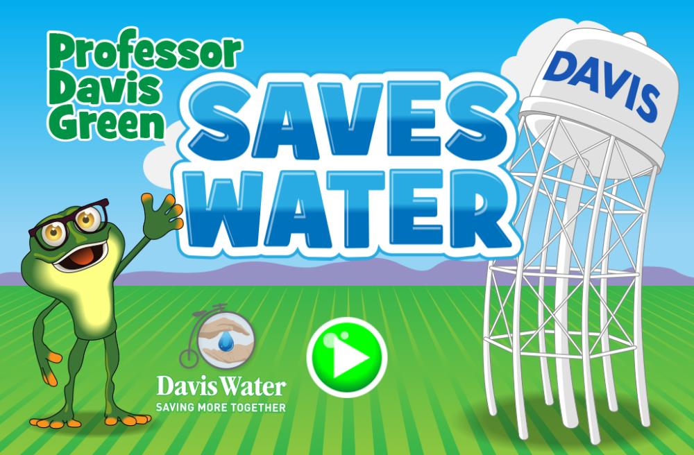 Davis Water Game Title Screen