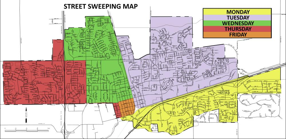 Davis-Street-Sweeping-map