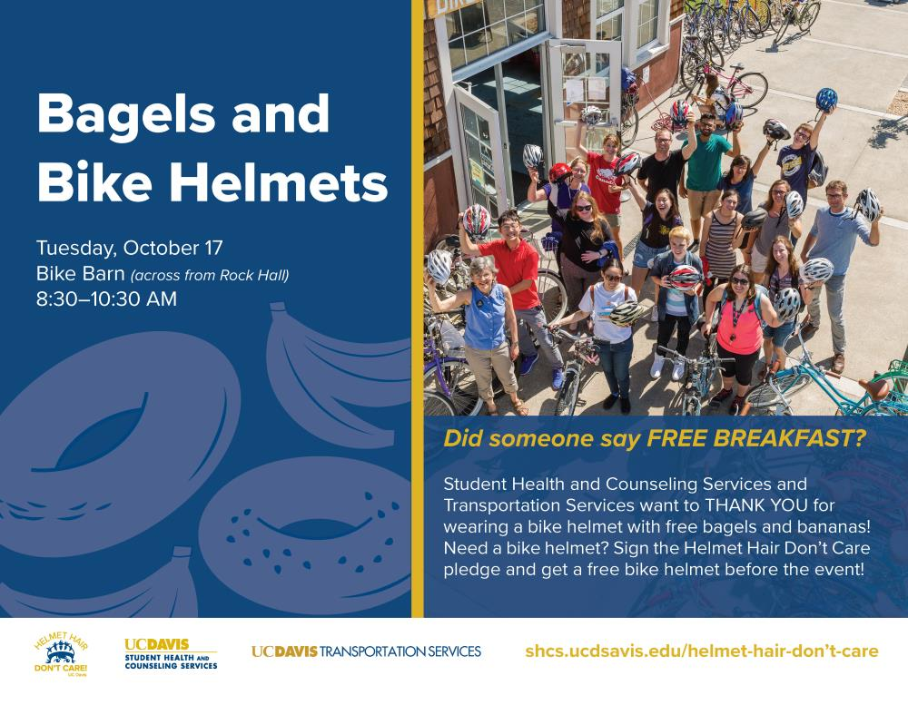 helmets and bagels
