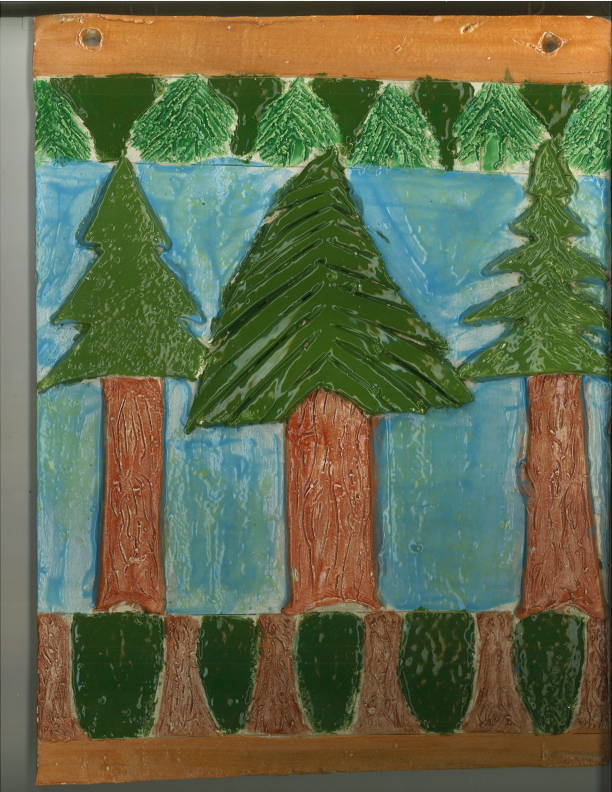 3rd Place-Grades 7-9 Arbor Day Art Contest