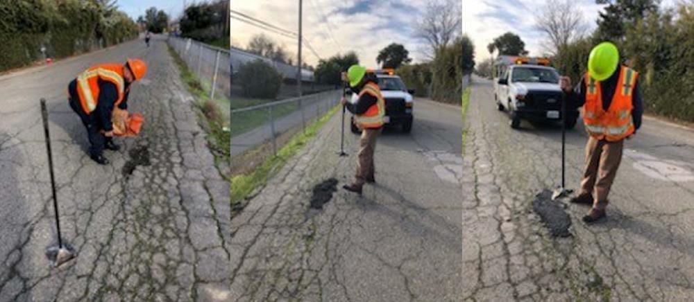 Pothole collage
