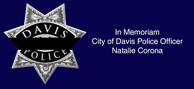 In Memoriam - City of Davis Police Officer Natalie Corona