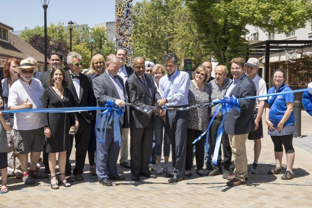 Third St Ribbon Cutting 6.1.19