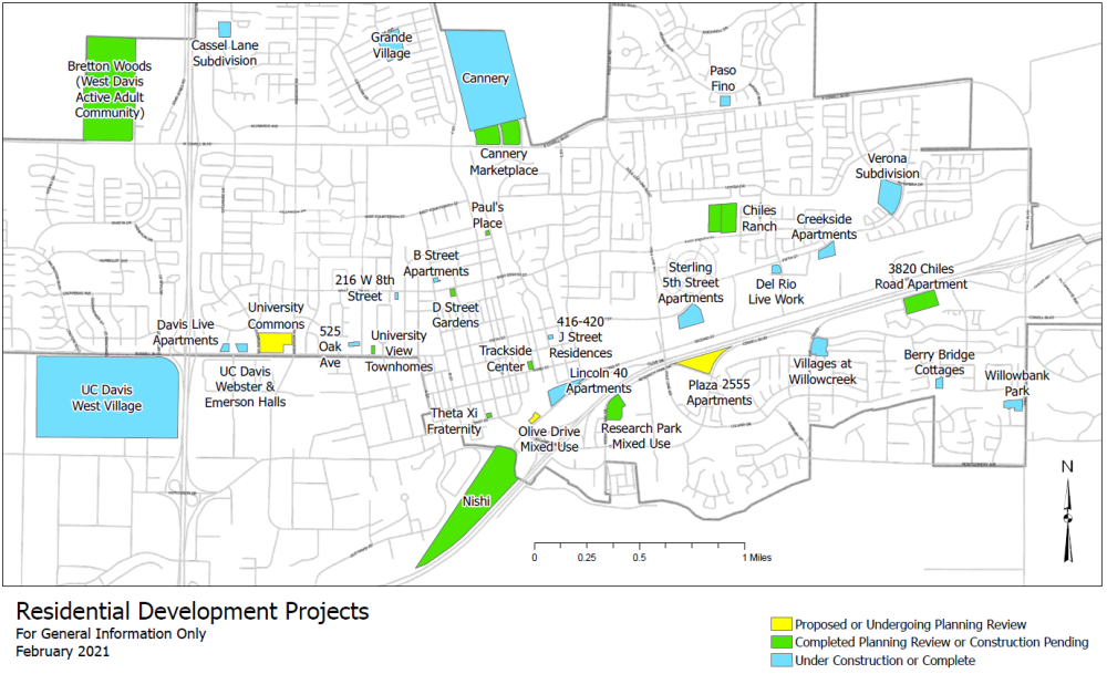 Residential Development Map