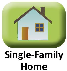 single-family small button